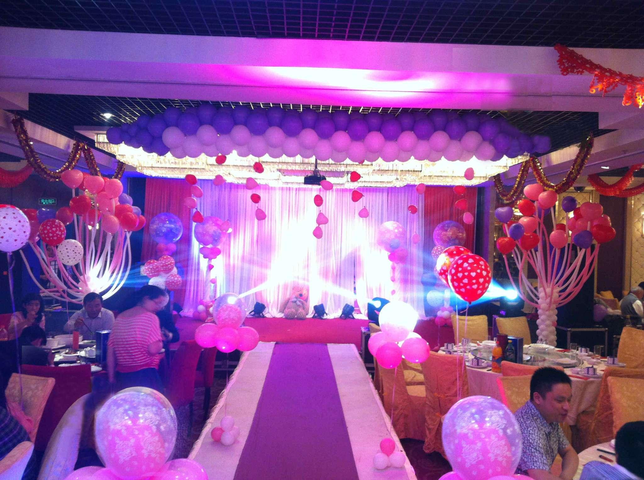 紫罗兰婚礼 - 秦皇岛气球王国丨气球布置丨气球装饰丨